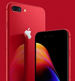 Apple anuncia iPhone 8 e 8 Plus na cor vermelha